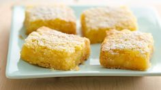 The wait is finally over...Gluten Free Lemon Bars are here!