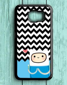 Blue Chevron Finn Samsung Galaxy S7 Case