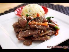 Korean Food: Sempio BulGoGi (소고기 불고기)