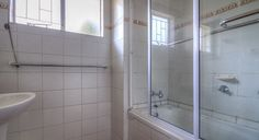 Bathroom in the 6 bed cottage at Thendele Camp, Northern Drakensberg located in KwaZulu-Natal