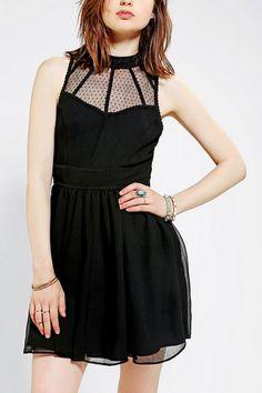 Kimchi Blue Emmy Lou Chiffon Dress