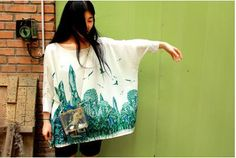 Vintage Lost in Kyoto collection Japanese yarn by PurpleFishBowl2, $67.00