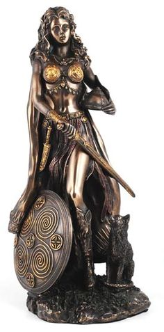 Freya Statue : No Dins Place, Everything Pagan!