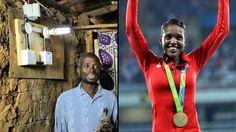 BMWs Showered On Indian Medallists But Electricity A Reward For Kenya's Gold Medallist www.sta.cr/2tu13