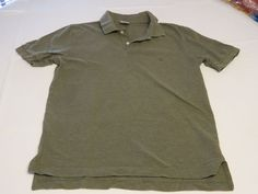 Mens Brooks Brothers Performance Polo cotton M slim fit shirt Men's olive EUC@ #BrooksBrothersperformancepolo #PoloRugby