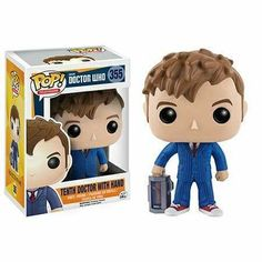 Tenth Doctor with Hand  Pop! Television Funko POP! Vinyl
