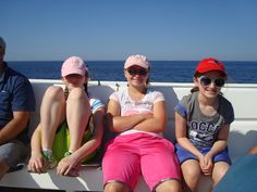 From left to  right: Me, my cousin Ally, and my sis