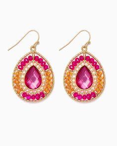 charming charlie | Eastern Treasures Dangle Earrings | UPC: 450900531355 #charmingcharlie