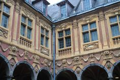 Facade in Lille, France