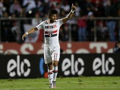 Contratado em agosto de 2015, Rogério deixa o São Paulo após 32 jogos disputados e sete gols marcados (Getty Images)