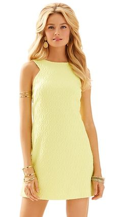 Lilly Pulitzer Mango Shift Dress in Limoncello