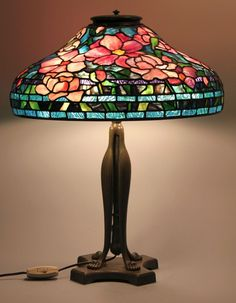 Love Tiffany glass? Learn to make your own Tiffany-style lamp at Covenant Art Glass in Everett. #art #decor #Everett (Photo by Covenant Art Glass)