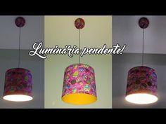 Faça você mesmo | Como fazer luminária pendente com barrica! - YouTube