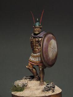 One of Alexander's Hypaspist officer
