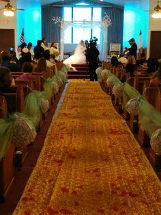 Hermosa decorasion para boda
