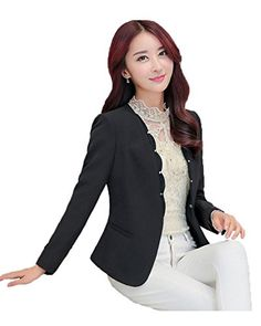 My Wonderful World Women's Chiffon Wave Ruffled Nail Bead Blazer Small Black My Wonderful World Blazer Coat Jacket http://www.amazon.com/dp/B016Y0O8JS/ref=cm_sw_r_pi_dp_fGikwb1HC9XT5