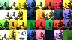 Andy Warhol Exhibition...photo booth!