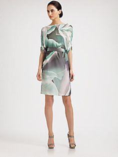 watercolor dress....beautiful