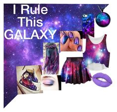 """I Rule This GALAXY"" by the-simple-life-of-aud on Polyvore featuring Uncommon, Converse, women's clothing, women's fashion, women, female, woman, misses and juniors"