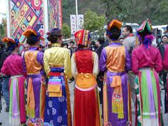 Colorful costums