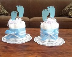 Safari Jungle and Monkey Diaper Cakes by bearbottomdiapercakes
