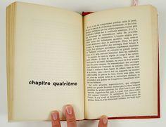 """Chapter Setup. Massin's Book Design for """"Le Pont De La Riviere Kwai"""" by Pierre Boulle"""
