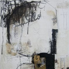"Anonymous.2, Špela Trobec collage, 11.8"" x 11.8"" on canvas"