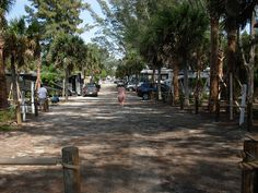 TURTLE BEACH CAMPGROUND AT PARK At SARASOTA FL
