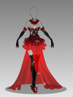 (closed) Auction Adopt - Outfit 278 by CherrysDesigns.deviantart.com on @DeviantArt