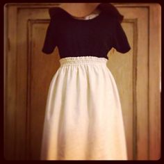 @Love plain summer skirt @offwhite