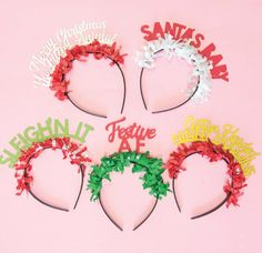 PARTY UP TOP HEADBANDS: HOLIDAY PACK