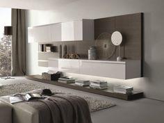 salon moderne blanc - quels meubles et déco pour le réussir ... - Meuble Salon Contemporain Design
