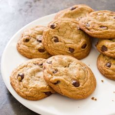 Perfect Chocolate Chip Cookies by America's Test Kitchen -- Our perfect chocolate chip cookie recipe had to produce a cookie that would be moist and chewy on the inside and crisp at the edges, with deep notes of toffee and butterscotch to balance its sweetness.