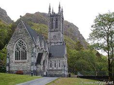 dyingofcute:  Kylemore Abbey, Ireland