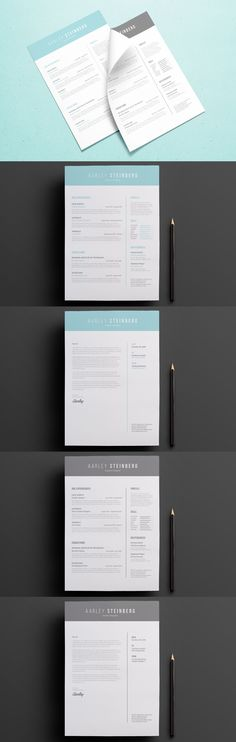 Free Minimalist Resume Template and Cover Letter Resumes - minimalist resume template