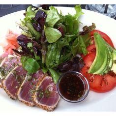 Seared Tuna Tataki Salad from Cheesecake Factory.