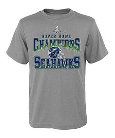 Loving this Seattle Seahawks 'Super Bowl Champions' Tee - Boys on #zulily! #zulilyfinds