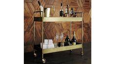 Libations Bar Cart | Crate and Barrel