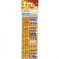 Emoji Party Supplies, Emoji Pencils, Party Favors