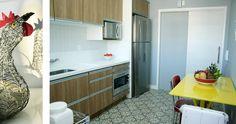 Histórias e fotos da reforma de minha cozinha. Veja como foi feita toda reforma, a decoração e o contato dos profissionais daqui de Florianópolis - SC.