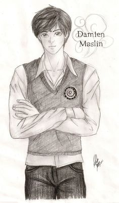 Damien Maslin  House of Night. He's so adorable!!