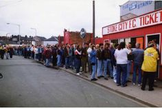 Stoke City: New ticket system to replace Platinum Plus | Stoke Sentinel . Stoke fans faced long queues for big games in the old days at the Victoria Ground.