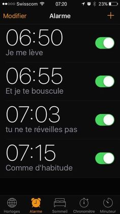 Se réveiller en chanson.... https://www.15heures.com/meme/p/32812/