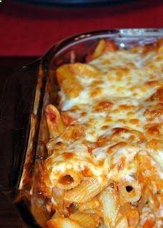 Italian Sausage Baked Pasta Recipe