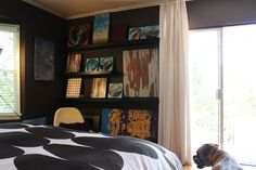 "Mark's ""Retro Cabin Mod"" in Eagle Rock House Tour | Apartment Therapy"