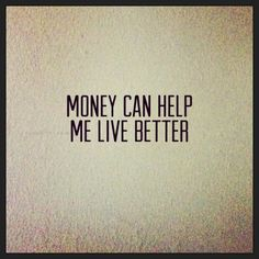 I chose to have more money in my life so that I can help others more.  #positivethoughts #money