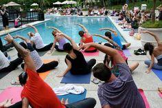 side stretch yoga