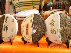 These pu'erh tea cakes look excellent