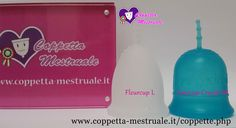 Amycup Crystal Vs. Fleurcup Buy it from our shop: https://www.coppetta-mestruale.it/coppette.php