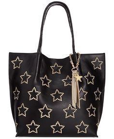5197c1dc78f Betsey Johnson Star Tote & Reviews - Handbags & Accessories - Macy's